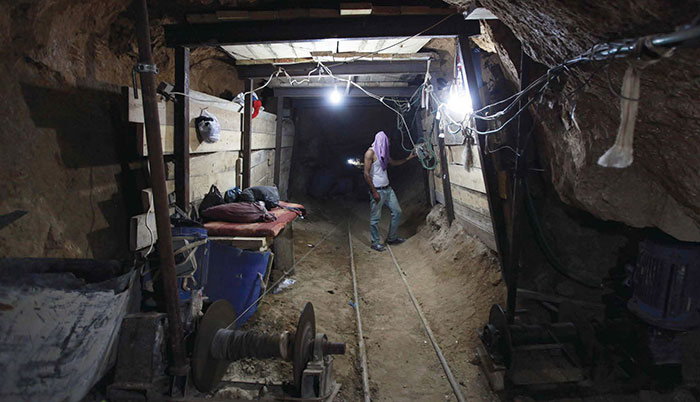 Hamas built tunnels to smuggle weapons under the Philadelphi Route from Egypt to the Gaza Strip. In recent years it has also dug attack tunnels from Gaza into Israel.