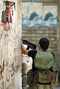 Sunni gunman in Tripoli in 2008.