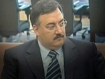 Col. Wissam Hassan, the ISF intelligence chief who was Hariri's chief of protocol at the time of the bombing. (CBC)
