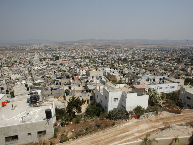 A general view of the Jenin refugee camp is seen near the West Bank city of Jenin September 6, 2011 (Courtesy REUTERS/Abed Omar Qusini).