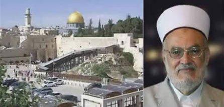 Sheikh Sabri: Buraq Wall is a part of Al-Aqsa Mosque