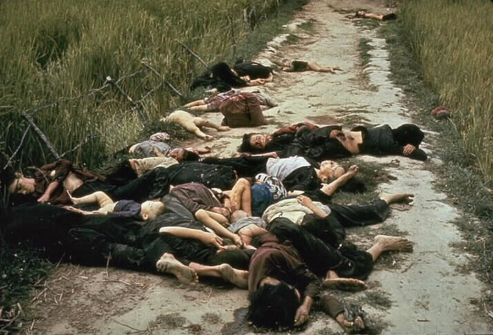 The aftermath of the My Lai massacre (photo credit: Ronald L. Haeberle)