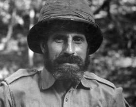 Major-General Charles Orde Wingate in Reading, England, September 1943