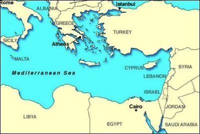 Israels Challenges in the Eastern Mediterranean  Israel Behind