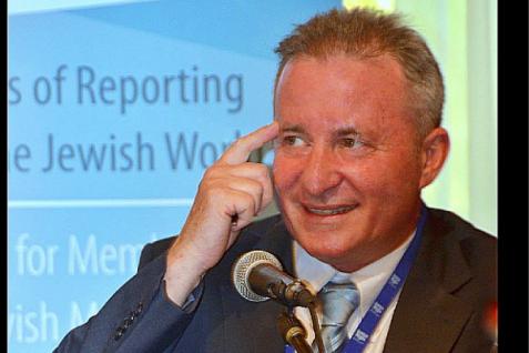 Steve Linde, editor-in-chief of the Jerusalem Post Photo Credit: Facebook