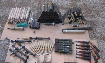Insurgent-arms-cache