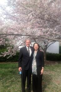 Michael and Sally Oren (Facebook)