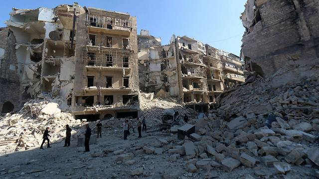 Destruction in Syria. 'By Destruction in Syria. 'By giving the UN access to the truth, the world will understand that Israel is a fortress of democracy and human rights despite its military and political challenges' (Photo: AFP)