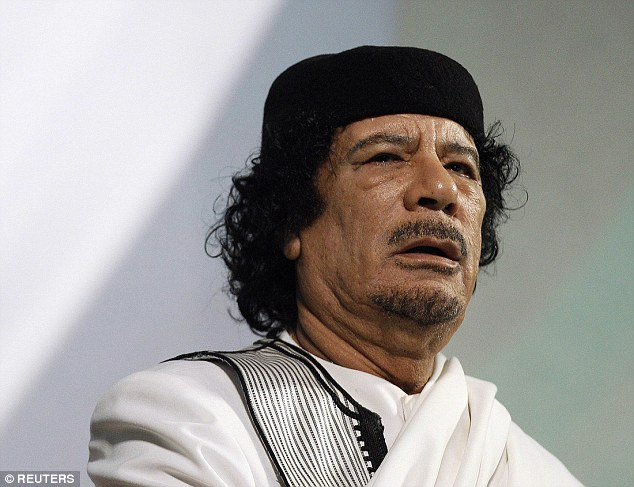 Prophecy: Muammar Gaddafi predicts the Mediterranean would become a 'sea of chaos' four years before Islamic State beheaded 21 Egyptian Christians on a beach in Libya - prompting a swift and brutal response from the country who launched airstrikes on their locations