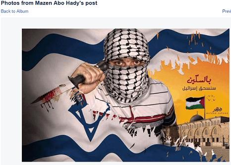 Mazen Abo Hady - Offending image I - flag