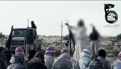 Ansar al-Maqdis members operating in Sinai. A significant increase in volume of communication with elements affiliated with ISIS's Security and Intelligence Council in Iraq and Syria