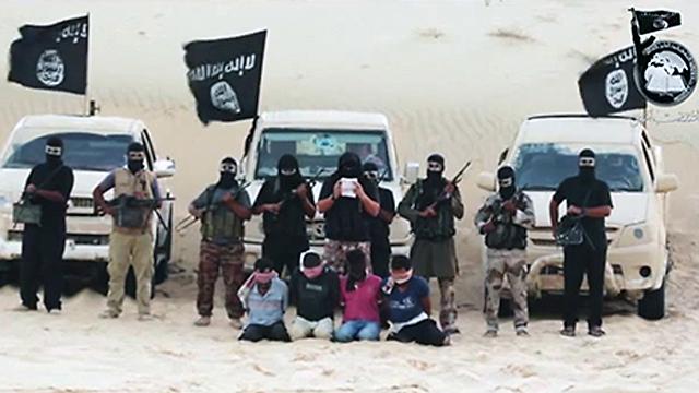 Beheading 'Israeli spies' in Sinai