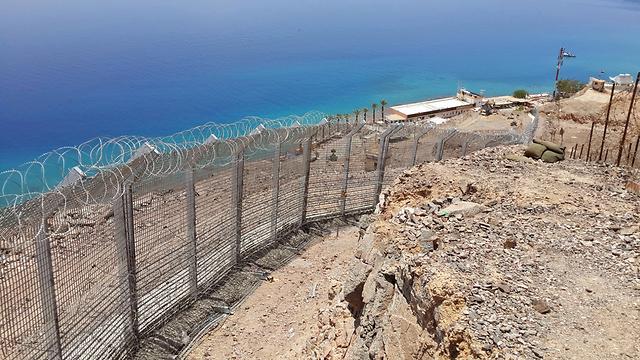 Israel-Egypt border. New challenge (Photo: Yoav Zitun)