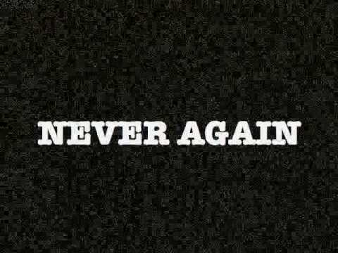Never Again >> Never Again Israel Behind The News