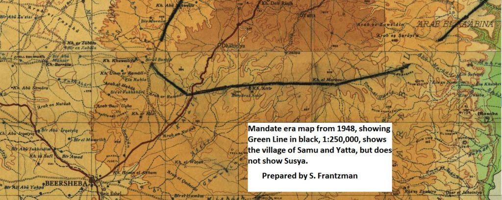 Mandate Map 1948_250000_Frantzman