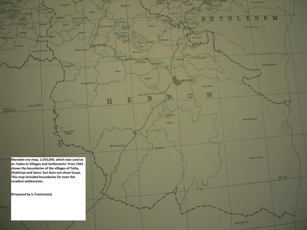 Map Mandate 1942_Frantzman