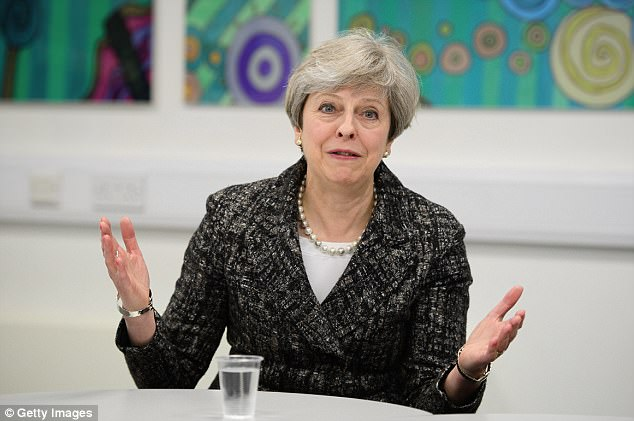 The leader who likes to present herself as the epitome of common sense has decided to continue with the policy that Britain must give away 0.7 per cent of national income in foreign aid.