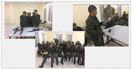 El campamento de verano del mecanismo de seguridad nacional en Jericó (Página facebook del comité de organización de Fatah en el campamento de refugiados Qalandiya, 31 de julio de 2017)