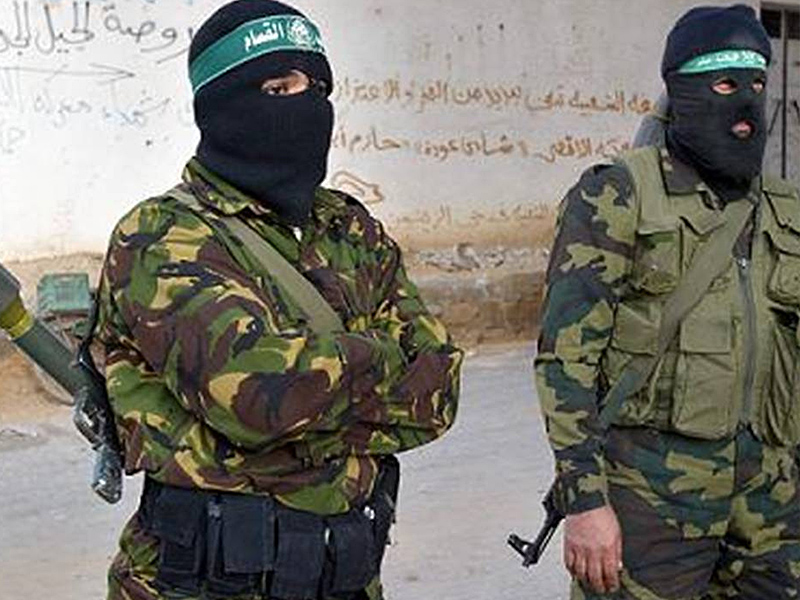 Hamas militants FLICKR PHOTO