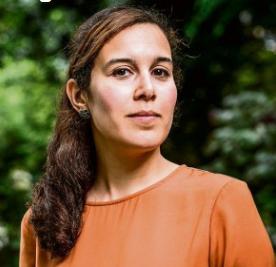Nada Kiswanson, la abogada de La Haya a quien se entregó el informe palestino, (frontlinedefenders, 25 de septiembre de 2017).